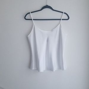 Jones New York White Camisole Size Medium